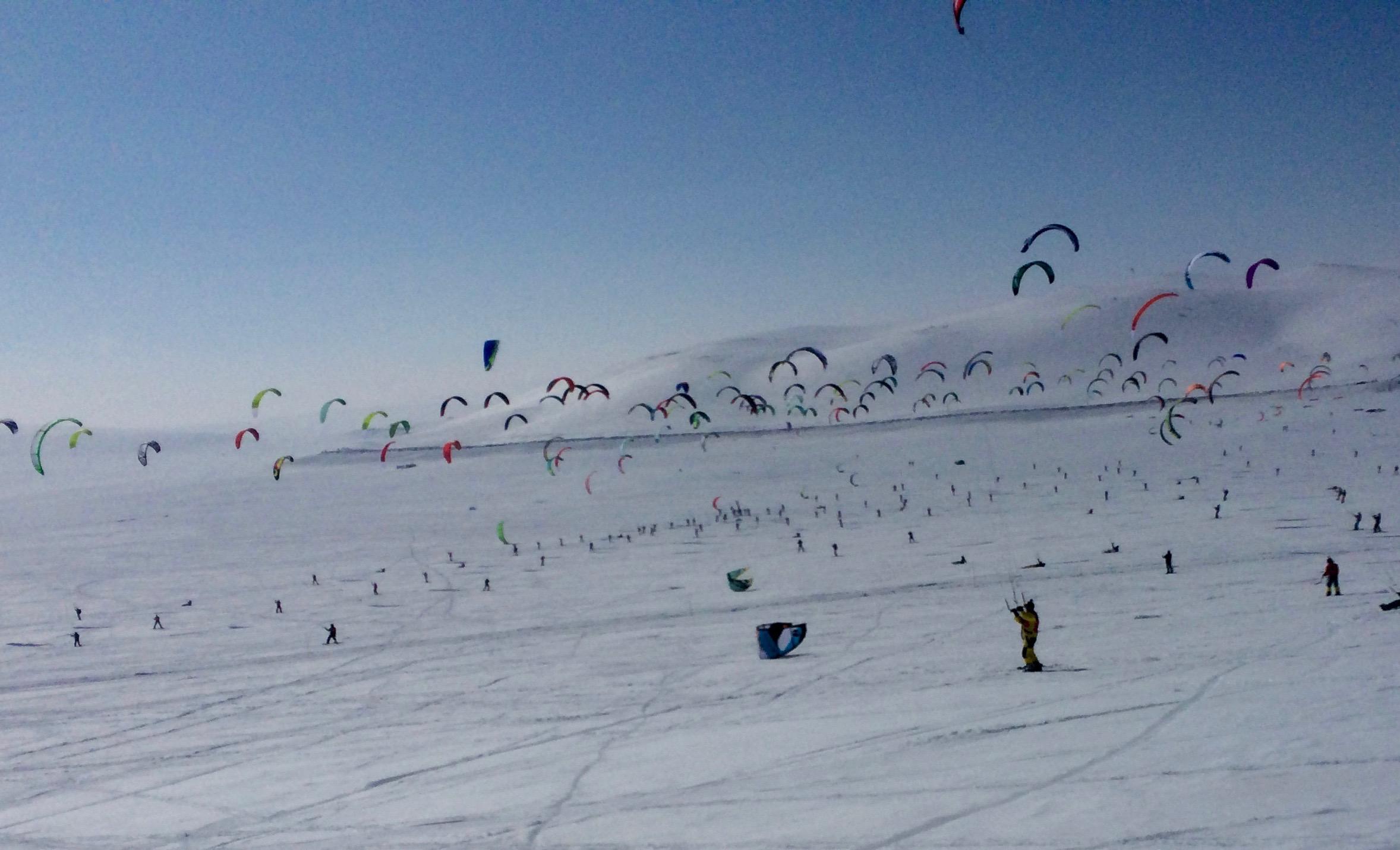 Snowkite Norway