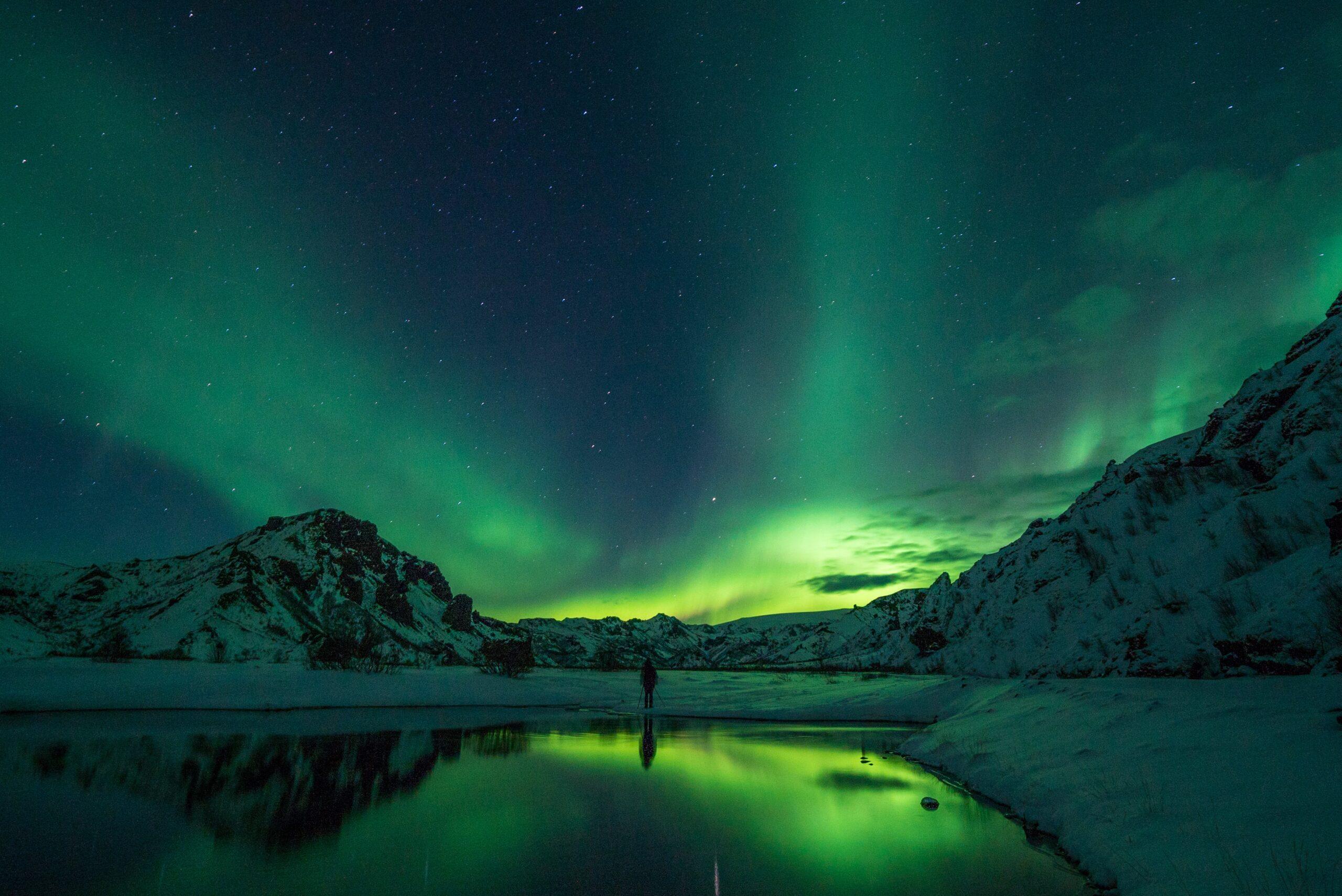 Snowkite Finland