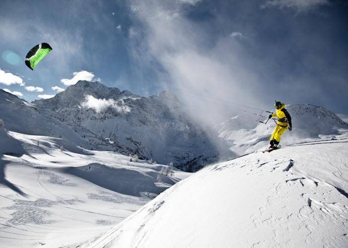 Snowkite Switzerland