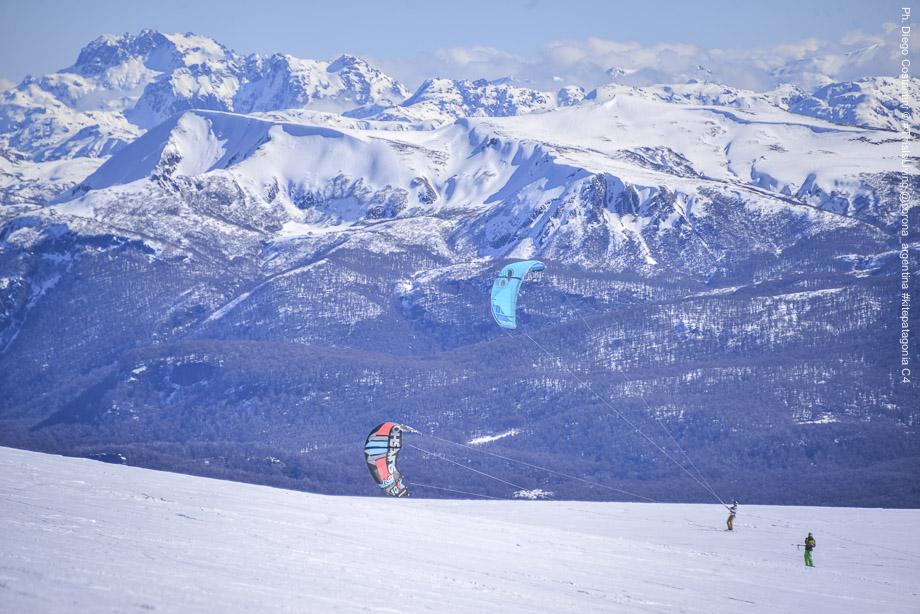 Snowkite Patagonia